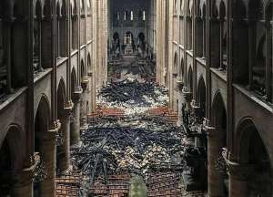 notre dame post fire