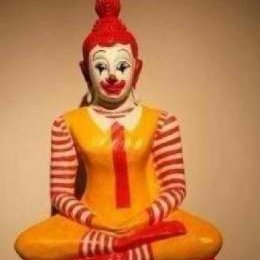 ronald mcdonald meditating